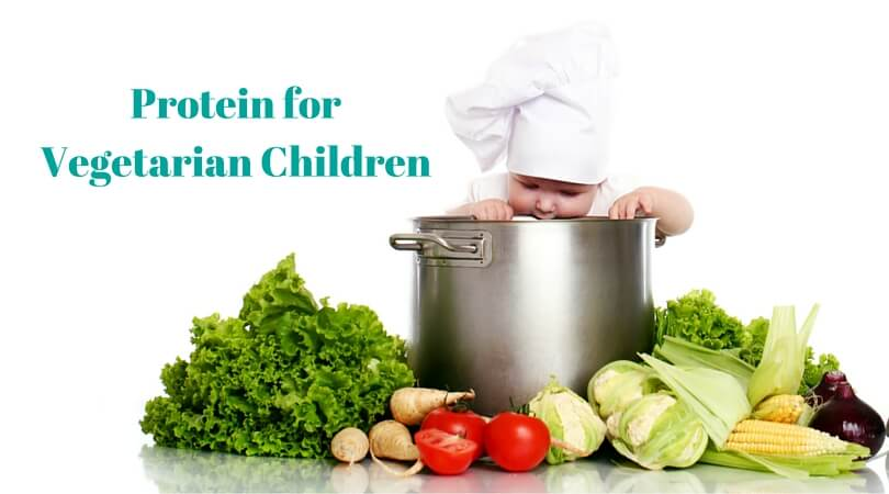 How to get required protein for vegetarian kids
