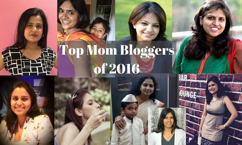 Top 21 mommy bloggers of 2016 in India