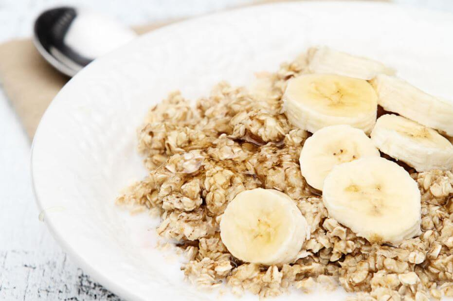 banana and oats during loose motion