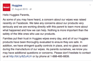 huggies clarification