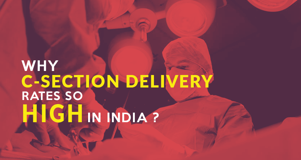 Why C-section delivery rate is so high in India