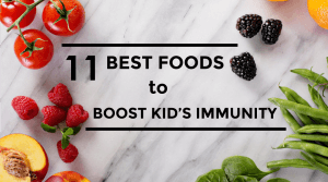 foods to boost baby immune system