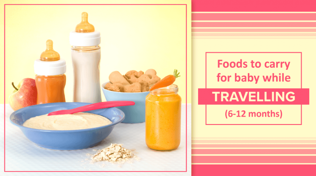 6 Best Baby Food While Travelling (6-12 Months)