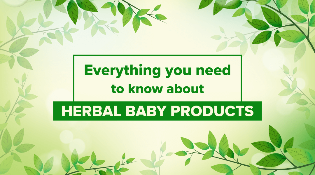 herbal baby products