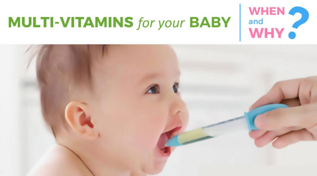 Multivitamins for your baby | Essential Components & Their Need
