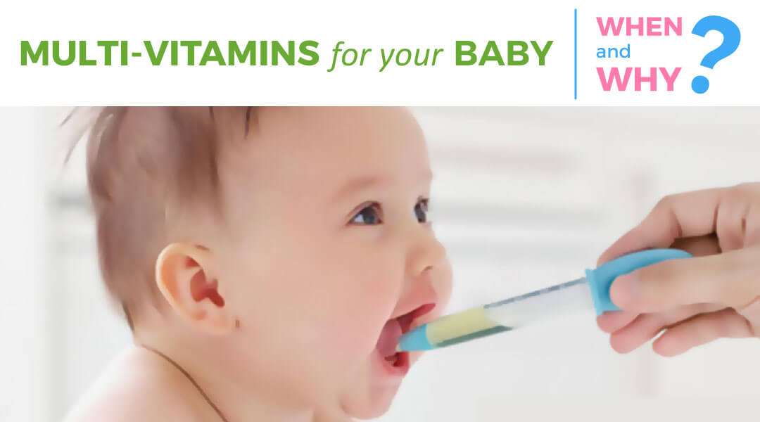 Multivitamins for babies