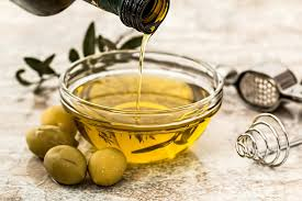 Olive oil for baby massage