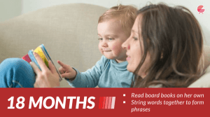 Read board books on her own - Baby Milestones