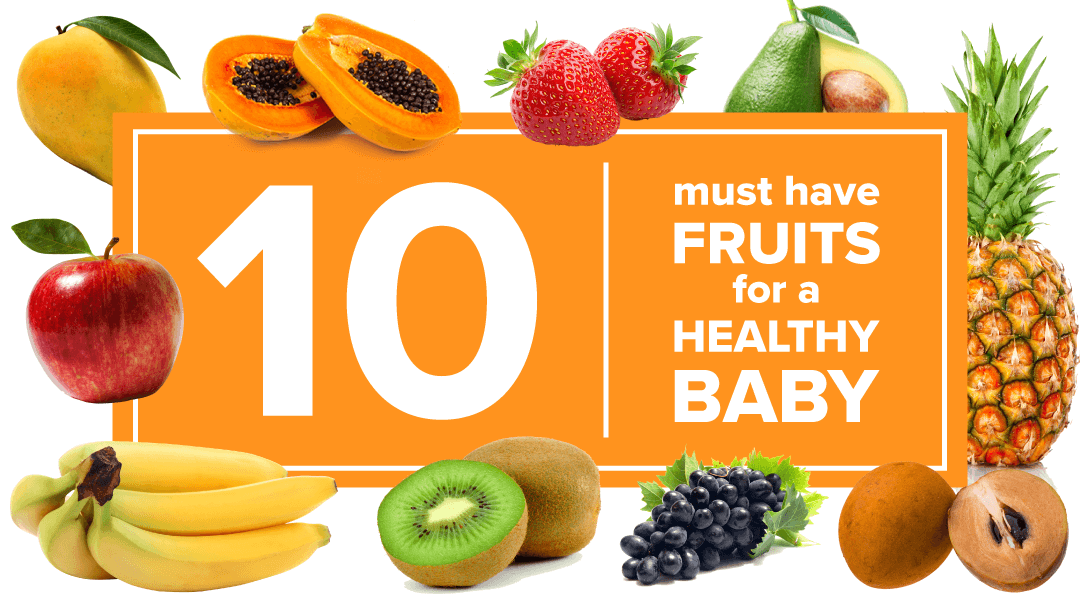fruits for babies