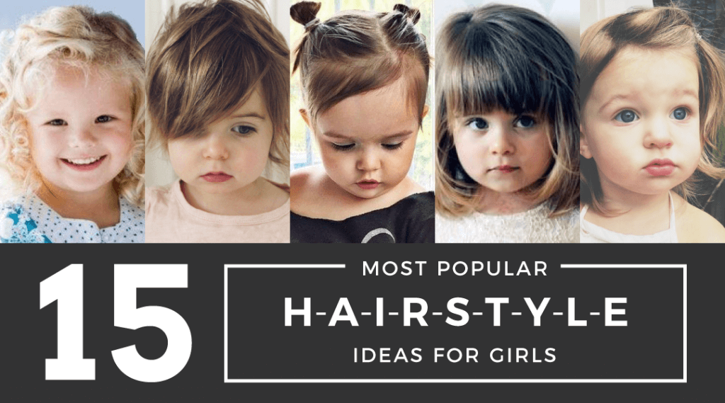 Kids Hairstyles Ideas: 15 Most Popular Styles For Your Little Princess