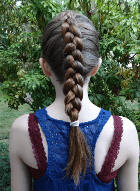 Hairstyle for girl child