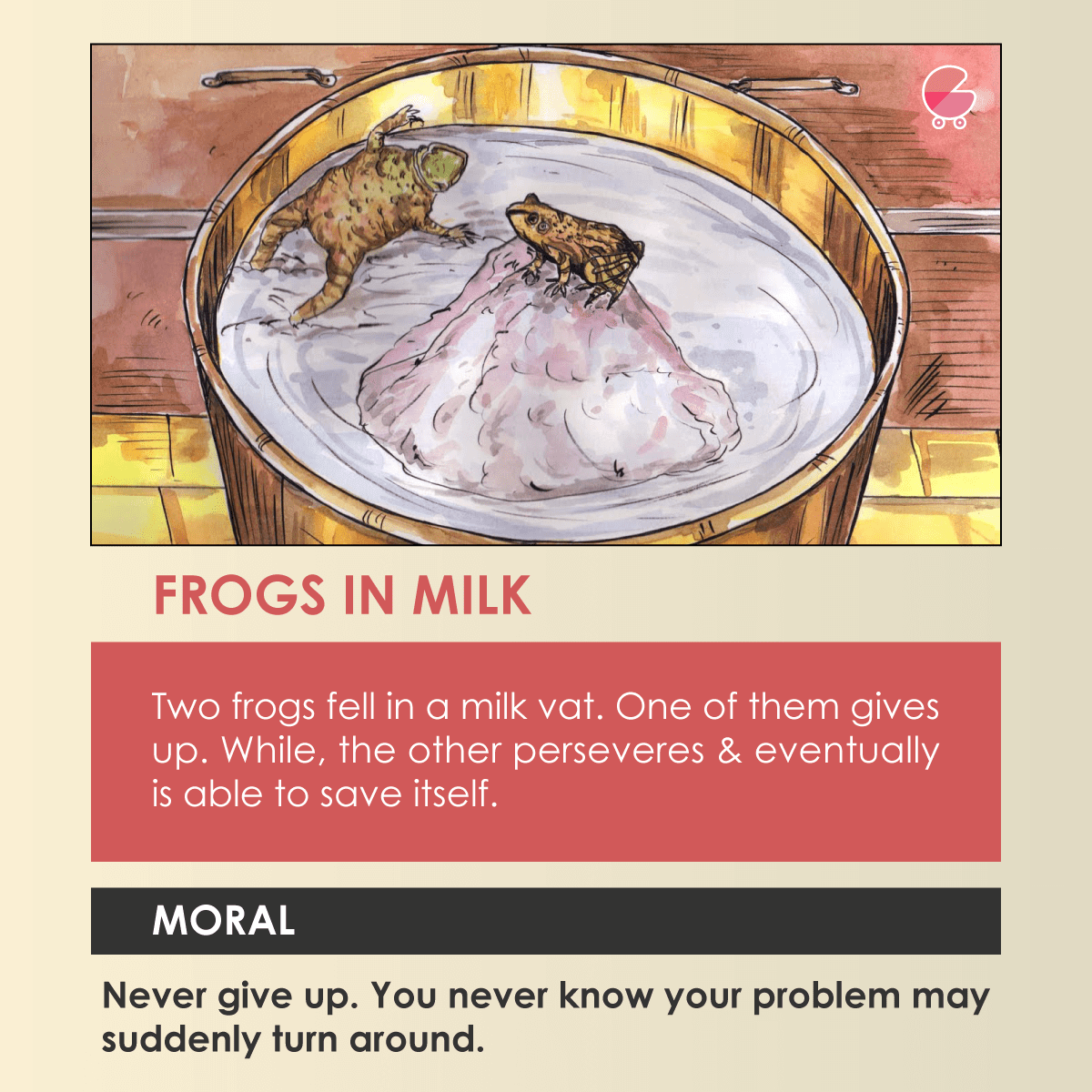 frogs in milk