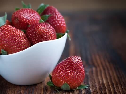 strawberries for babies