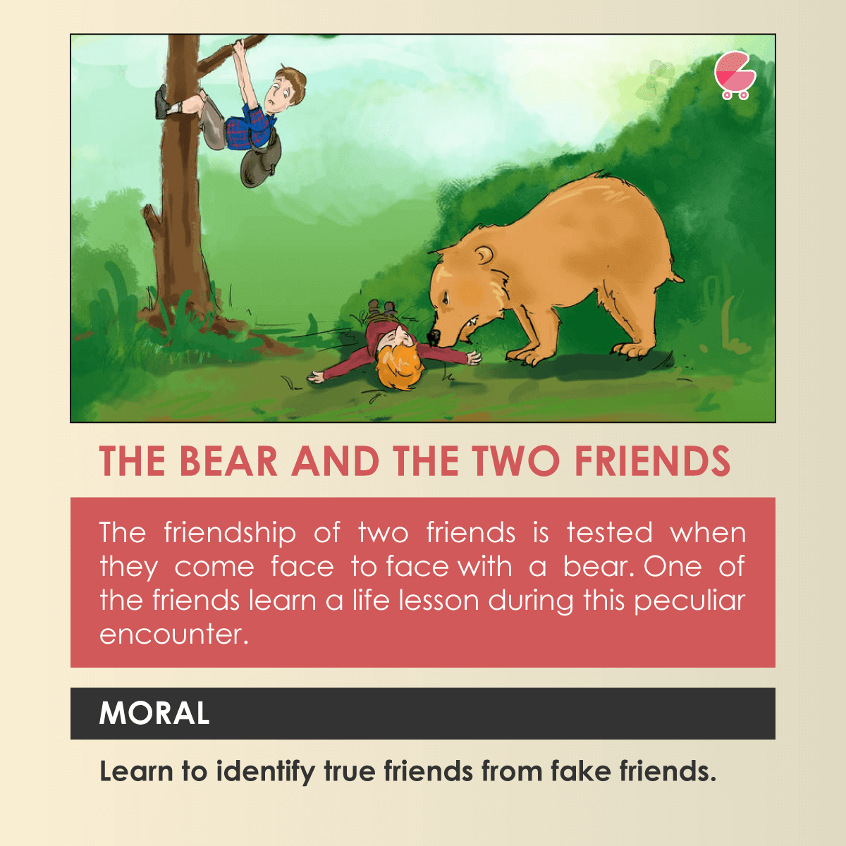 the bear and the two friends