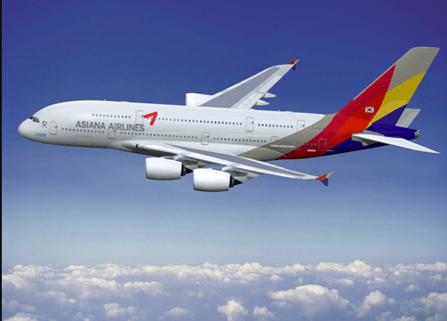 Asiana Airlines for infants