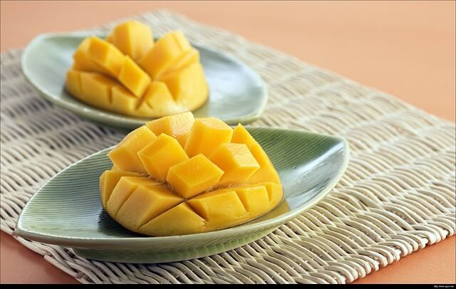 Mango for weight gain in babies