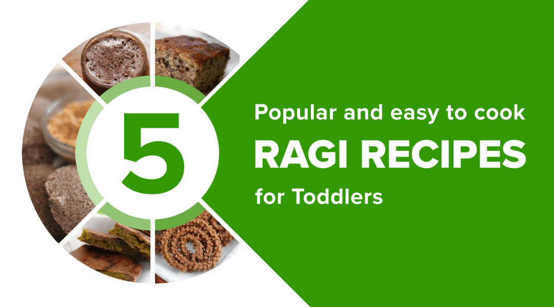Ragi Recipes for Toddlers