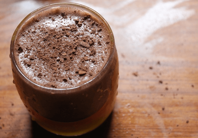 Recipe for Ragi Choco Shake