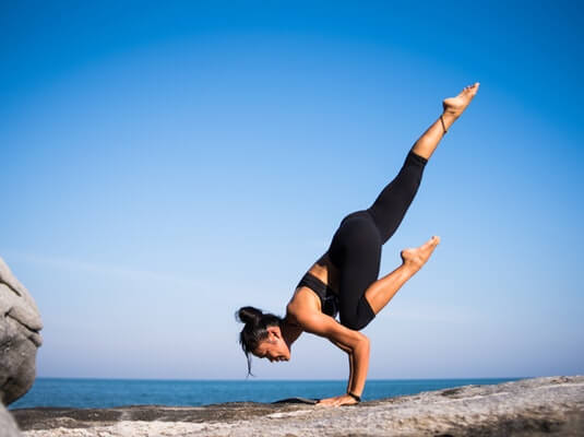 Yoga as a natural beauty tip