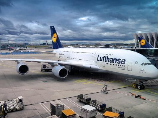 lufthansa airlines for infants
