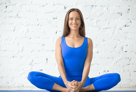 cobbler pose exercise during pregnancy