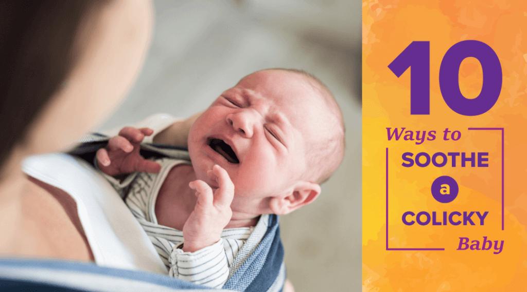 How to cope whilst your child has colic