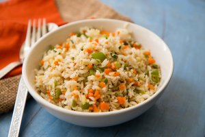 vegetable fried rice for kids