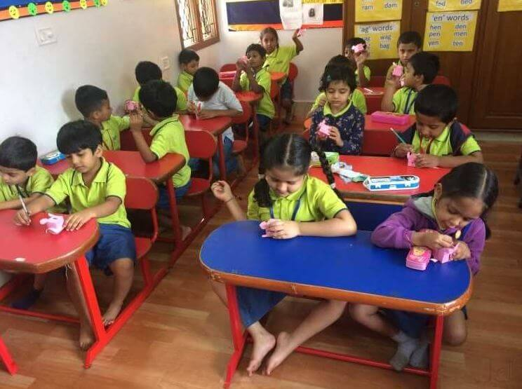 Euro Kids Learning playschool in india