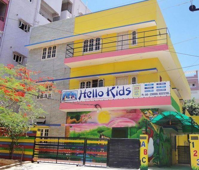 Hello Kids Playschool for kids in india