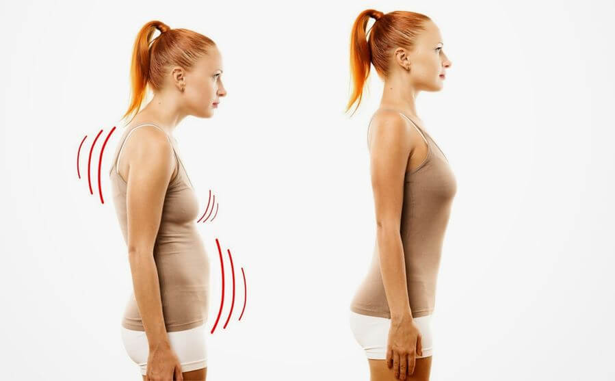 Improve your posture to get rid from back pain