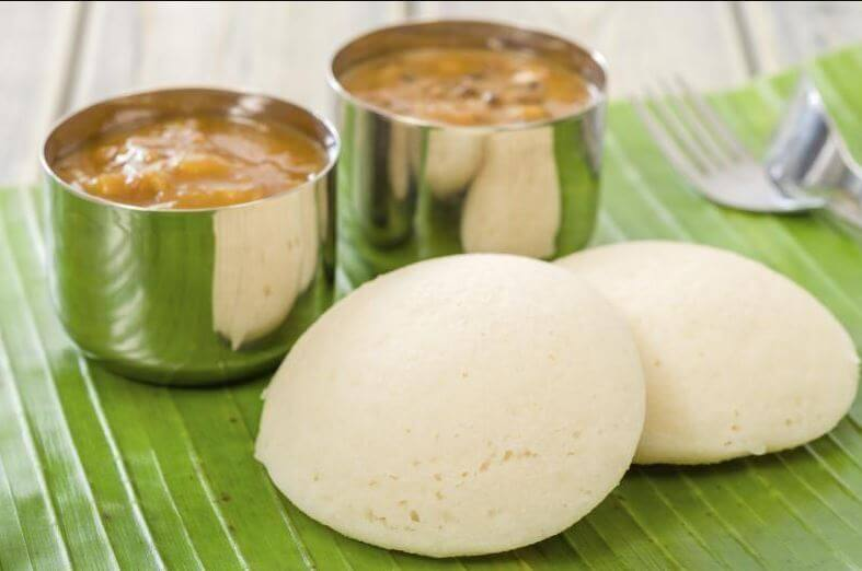 Rava idlis for protein diet for 10 month old baby