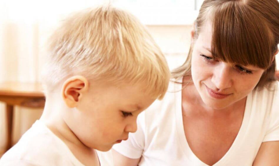 Stay Calm and Composed with your Reactions while talking to your child