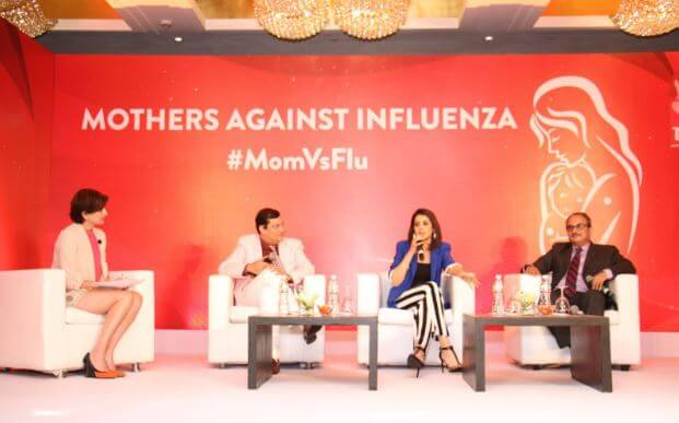 This Mother's Week, Celeb Mommy Genelia and I pledged to Fight Flu!
