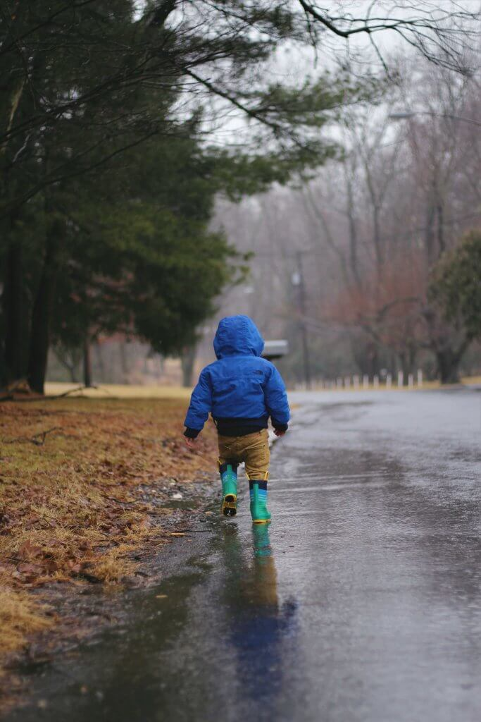 Take These Simple Precautions And Let Your Kids Have Fun in the Rain